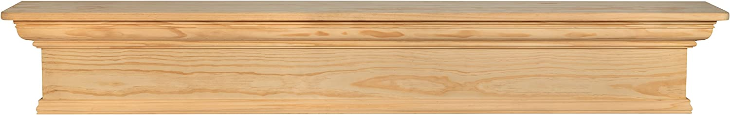Pearl Mantels 67% OFF of fixed price 420-72 Savannah Shelf 72-Inch Outlet SALE Unfinished Mantel