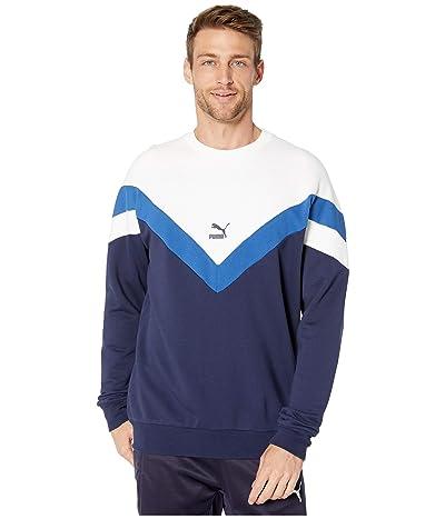 PUMA Iconic MCS Crew Sweatshirt (Peacoat) Men