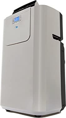 Whynter Elite ARC-122DS 12,000 BTU Dual Hose Portable Air Conditioner, Dehumidifier, Fan with Activated Carbon Filter Plus St