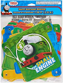 Thomas and Friends Happy Birthday Party Banner 7.59 Feet