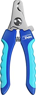 CleanHouse Pets Cat and Dog Nail Clippers, with Pet Safety Guard & Lock, Stainless Steel, Easy to Use - Great Nail Trimmer...