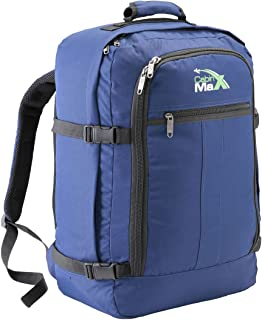 Cabin Max Carry On Travel Backpack Flight Approved 44L 56x36x23cm (Navy Blue)