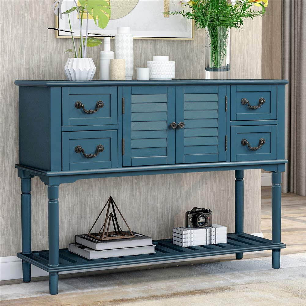 Pine Wood Retro Design Console Table Living Max 47% OFF OFFicial for Room K Sideboard