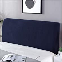 Slipcover Stretch Bed Headboard Slipcover Solid Color Dustproof Cover Headboard Slipcover Furniture Protective for Bedroom...