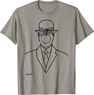 Rene Magritte The Son Of Man 1946 Sketch T Shirt, Artwork