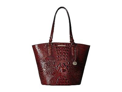 Brahmin Melbourne Medium Bowie Totes (Pecan) Tote Handbags