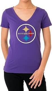 purple steelers shirt