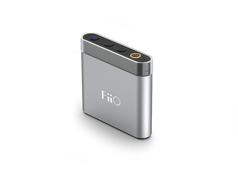 バスルームデータムいとこフィーオ コンパクト?ポータブルヘッドフォンアンプ(シルバー)FiiO Fiio A1