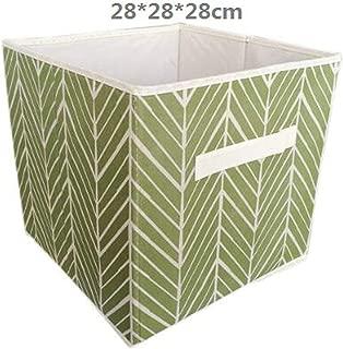 Non-Woven Fabric Folding Cabinet Storage Box Toys Organizer Clothes Storage bin for Underwear Bra Socks with Handle Chest,22