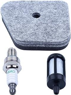 Haishine luftbränslefilter tändstift kit för STIHL FS87 FS90 FS100 FS110 FS130 HT100 HT101 KM100 KM110 KM90 HL90 HL95 HL10...