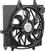 MYSMOT Radiator Cooling Fan Assembly For Chrysler PT Cruiser 2006-2010 (excluding Turbo Models) 5179470AA