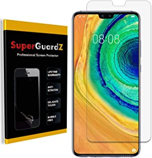 [8-Pack] for Huawei Mate 30 Screen Protector, SuperGuardZ, Ultra Clear, Anti-Scratch, Anti-Bubble [Lifetime Replacement]