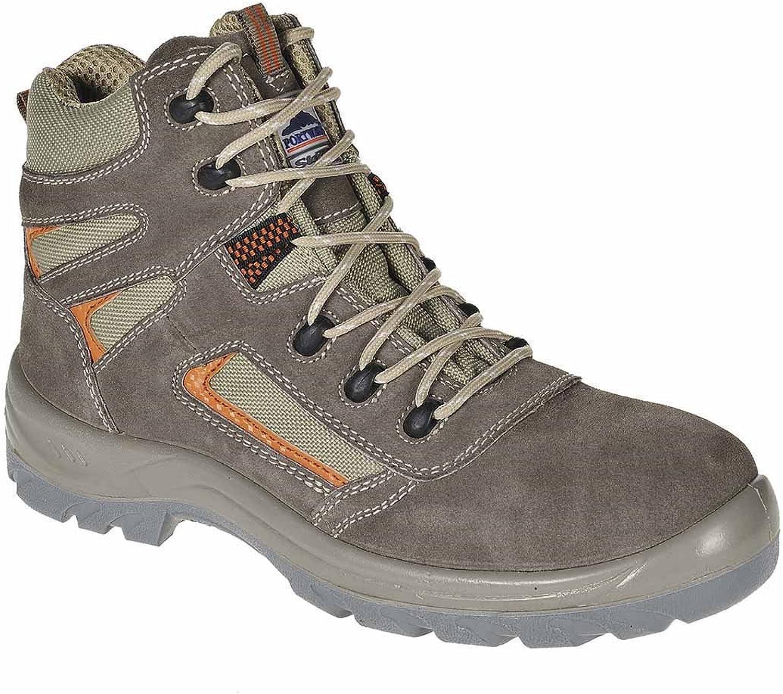 SUw - Compositelite Reno Mid Cut Workwear Ankle Boot S1P - Beige - UK 12