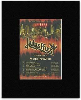 Metal Hammer Judas Priest - UK Tour 2011 Mini Poster - 28.5x21cm