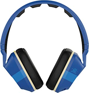Skullcandy Crusher Headphones with Built-in Amplifier and Mic ILL Famed Royal and Cream