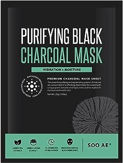 Soo Ae Purifying Black Charcoal Mask, 0.88 oz (1 application)