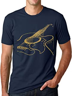 Acoustic Guitar Shirt Cool Musician Tee T Shirt