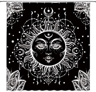 Best sun and moon shower curtain Reviews