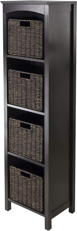 Winsome Max 63% OFF Terrace 5-Piece Rare Storage Shelf 11.8 Bookcase 14.5 by
