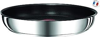 Tefal l9400432Ingenio Preference–Sartén Antiadherente, inducción, Acero Inoxidable, Acero Inoxidable, 24cm