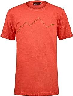 CMP T-Shirt Slub Jersey 100% Cotone