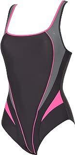Women's Swimsuit LIMA, Dark Gray/Bright Pink, 36
