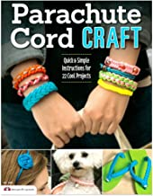 22 Quick Parachute Cord Crafts Book and Crafting Kit - All The Essentials to Begin Crafting Included
