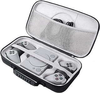 Gubest For プレイステーションクラシックPlayStation Classic対応 専用のケース 防衝撃 防塵 EVAケース キャリングケース収納バッグ ブラック