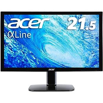 Acer モニター ディスプレイ AlphaLine 21.5インチ KA220HQbid フルHD TN HDMI DVI D-Sub ブルーライト軽減 VESA対応