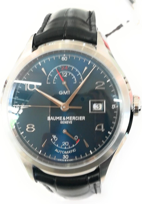 Baume et Mercier Clifton GMT Automatic Blue Dial Mens Watch M0A10316