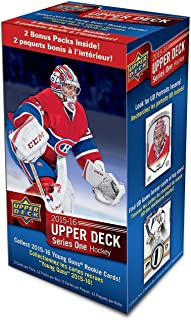 2015 2016 Upper Deck NHL Hockey Series One Factory Sealed Unopened Blaster Box of 12 Packs
