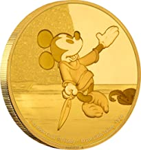 2016 NU Disney Mickey Through the Ages Series: Brave Little Tailor - 1 oz. Gold Proof - Second Coin of the Series - with Original Mint Packaging $250 Brilliant Uncirculated