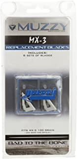 Best muzzy mx 3 replacement blades Reviews