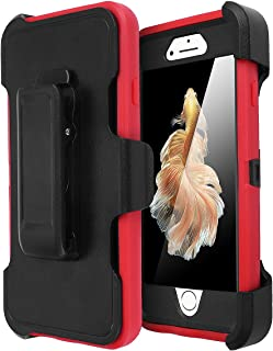 iPhone 6 Case, iPhone 6S Case [Heavy Duty] AICase Built-in Screen Protector Tough 3 in 1..