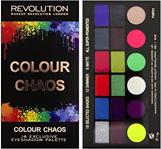 makeup revolution colour chaos palette