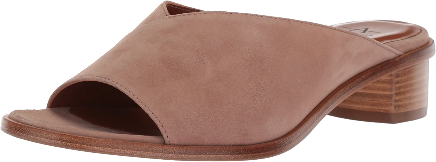 Aquatalia Womens Raven Dress Suede Mule