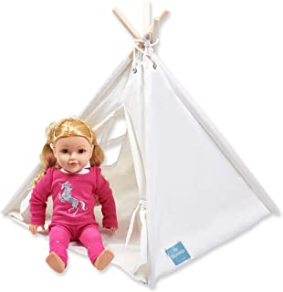 Bluenido Princess Teepee Tent Dollhouse Perfect for 18