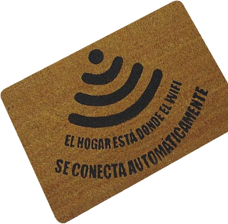 Non-Slip Doormat, Easy-Clean and Dirt-Trapper Barrier Door Mat