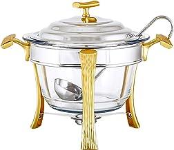 Regent Stainless Steel Onda Gold Soup Warmer