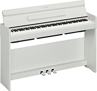 $999 Get Yamaha YDP-S34 Arius Series Slim Digital Console Piano, White Walnut