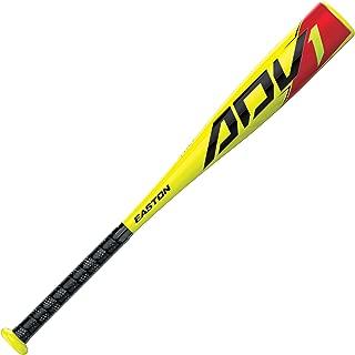 EASTON ADV1 -13 USA Youth / Kids Tee Ball Baseball Bat | 2 5/8 Barrel | 2020 | 1 Piece Composite | Hyperlite Composite Engineered - Fastest Swing Weight Tee Ball Bat | Comfort Grip | Tball Bat