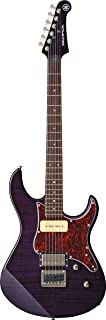 Yamaha Pacifica PAC611HFM TP Solid-Body Electric Guitar, Translucent Purple