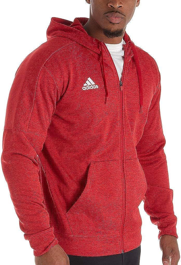 Adidas Men's Team Issue Climawarm Full Zip Fleece Jacket 111D