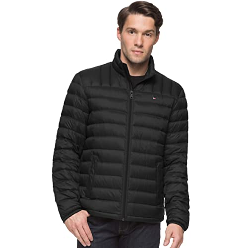 cd575ddd4aa2f Tommy Hilfiger Men s Packable Down Jacket (Regular and Big   Tall ...