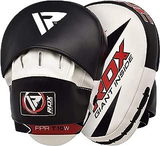 RDX Boxing Hook & Jab Pads MMA Target Focus Punching Mitts Thai Strike Kick Shield