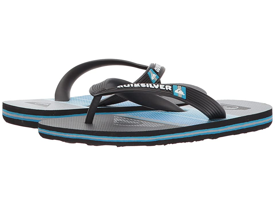 3cbc1608a16734 Quiksilver Kids Molokai Highline Slab (Toddler Little Kid Big Kid) (Black