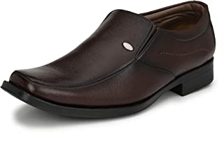Sir Corbett Men's Synthetic Formal Slip On Shoes(Big UK10-UK13)