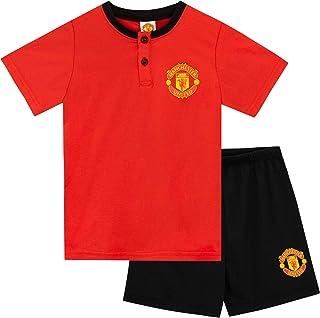 Pijamas de Manga Corta para niños Manchester United