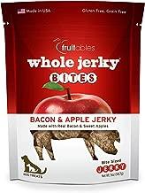 Fruitables Jerky Bites Bacon And Apple Jerky, 5-Ounce Bag
