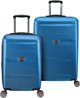 DELSEY Paris Comete 2.0 Hardside Expandable Luggage with Spinner Wheels, Steel Blue, 2-Piece Set (21/28)